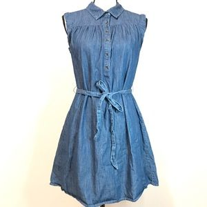 Universal Thread Blue Denim Dress Size Small